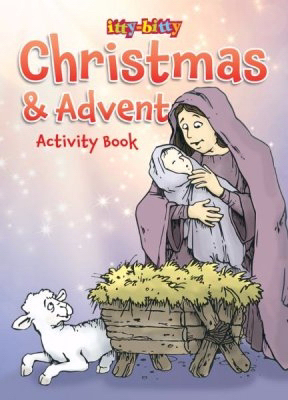 Itty-Bitty Christmas And Advent Activity Book (Pack Of 6) by Press Kids Warner | SHOPtheWORD